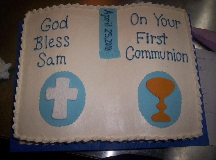Communion Cake - Kingston NY